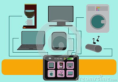 smart-watch-illustration-set-home-lifestyle-items-ilustration-x-tv-laptop-coffee-machine-tablet-pc-audio-system-77127793